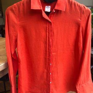 J Crew size AU12(US8) 100% linen shirt